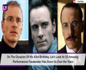 Known worldwide for his role of the metal-manipulating mutant in the X-Men saga, Michael Fassbender is more prolific for his work in the indie circuit. Two times nominated at the Oscars, Michael Fassbender is a very choosy actor who gives his very best even in bad films. On the occasion of his 43rd birthday, let's look at 10 amazing performances Fassbender has given us over the years.