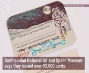 "The now defunct airline issued over 93,000 ""First Moon Flights"" Club cards to those who wanted a seat on the first commercial flight to the moon. While a reservation on the waiting list was free, Pan Am said \"